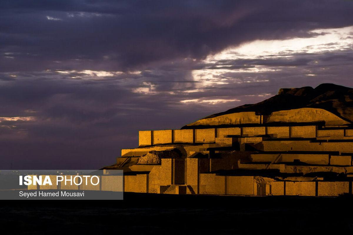 تصاویر زیگورات چغازنبیل؛ اولین اثر تاریخی و فرهنگی ایران