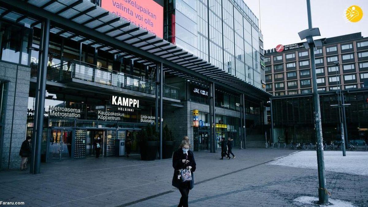 محدودیتهای کرونایی در فنلاند همه جا را تعطیل کرد+عکسها