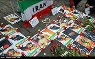 همدردى ایرانیان مقیم وین با حادثه دیدگان پلاسکو/تصاویر