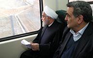 آشتی کنان رییس جمهور و شهردار در واگن مترو! + عکس