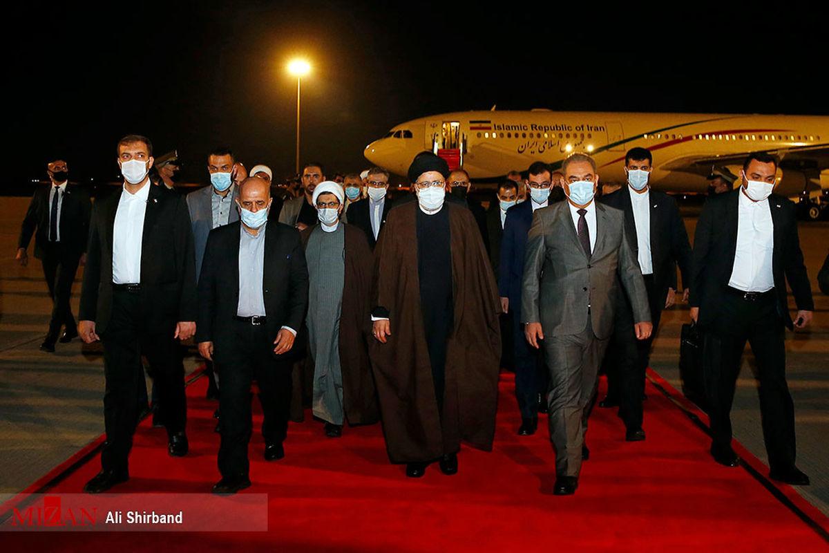 تصاویر منتشر نشده از دیدار رئیس قوه قضاییه در بغداد