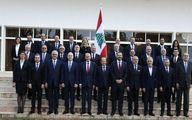 اولین تصویر از دولت جدید لبنان/ عکس