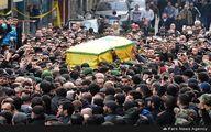تصاویری از مراسم باشکوه تشییع جنازه شهید جهاد مغنیه در بیروت