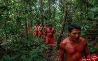 تصاویری دیدنی از قبیلهای ناشناخته در قلب جنگل آمازون