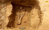 تصاویر: کشف اسکلت ۲۰۰۰ ساله شاهزاده ایرانی