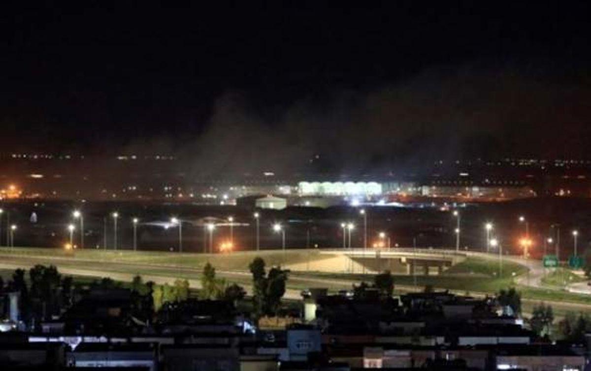 لانه جاسوسی اسرائیل در اربیل عراق منهدم شد
