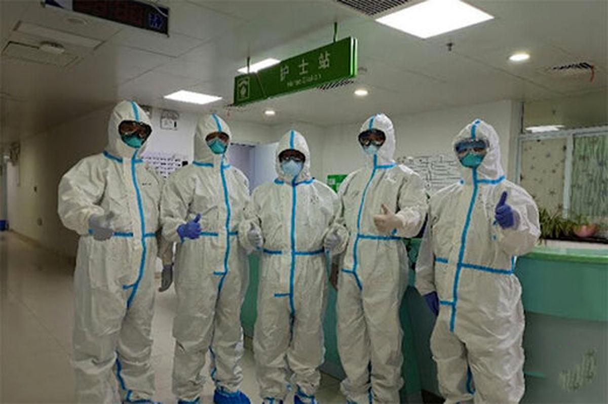 تصویری از لباس پیشرفته کادر درمان چین