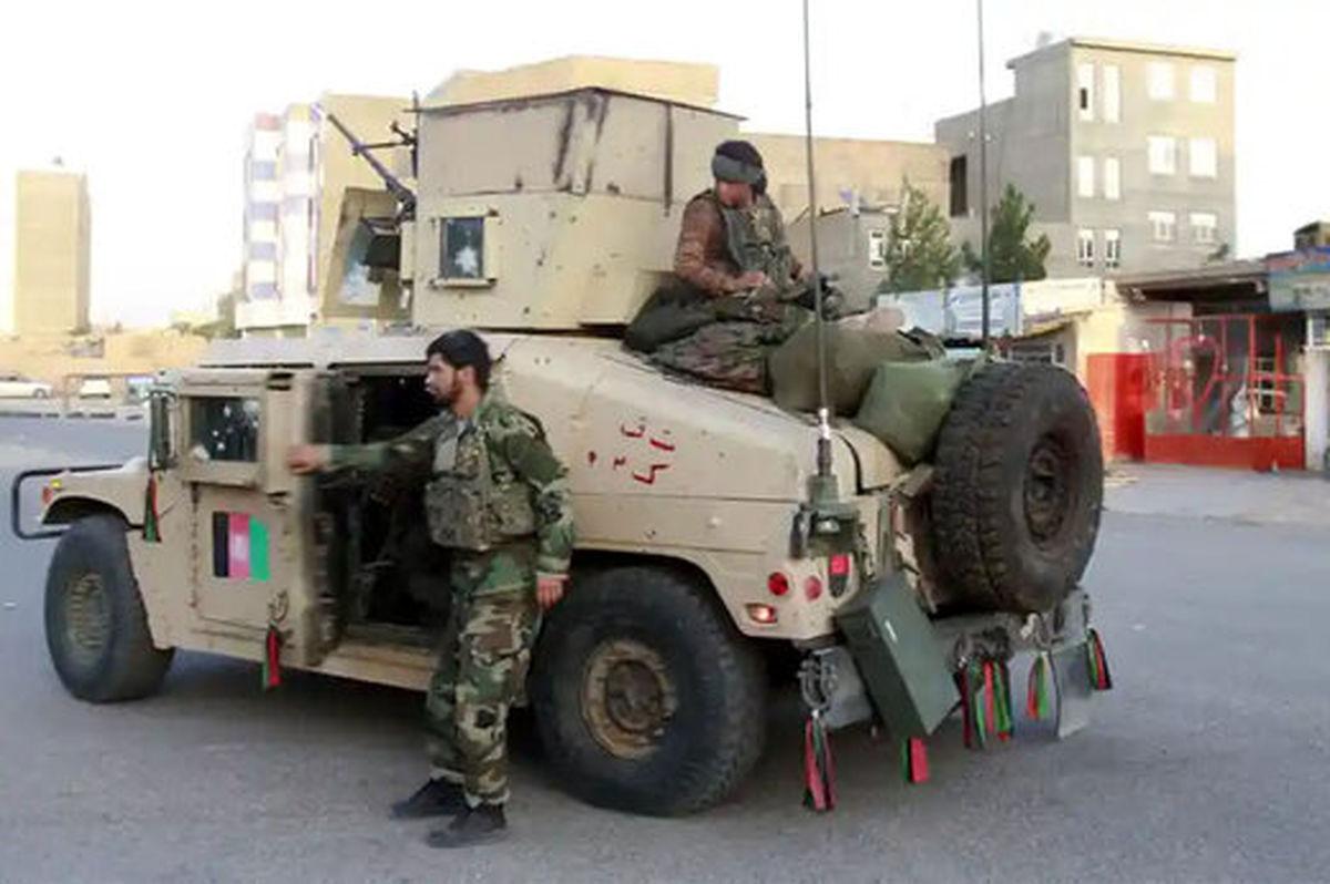 لحظه فرار زندانیان زندان مرکزی شهر شبرگان