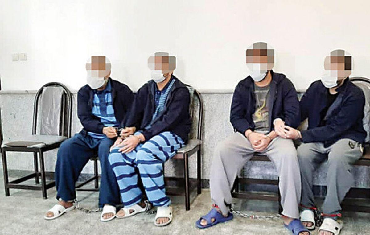 وسوسه گنج نفیس 5 مرد را راهی زندان کرد