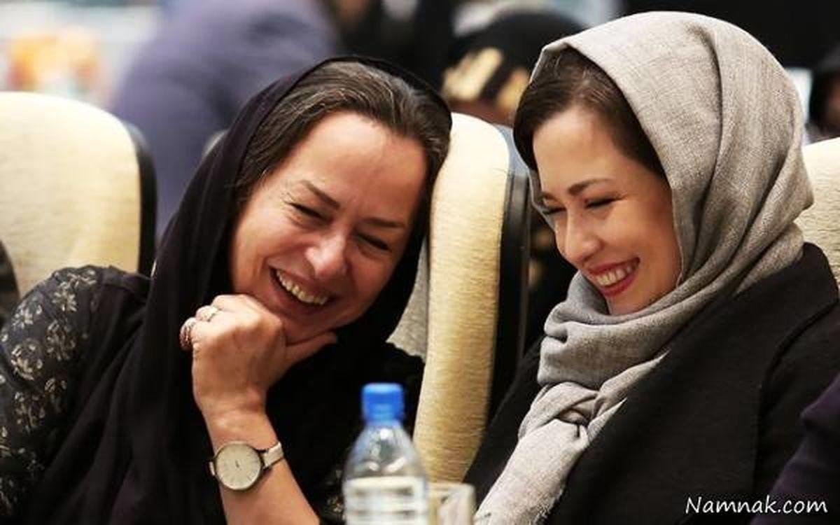 همسر محمدرضا شریفی نیا از همسر دومش رونمایی کرد | عکس آزیتا حاجیان