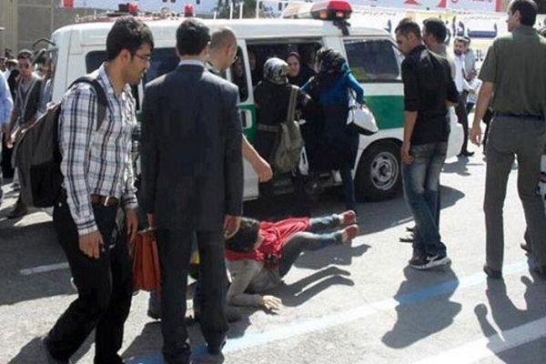 نگران زن ایرانی