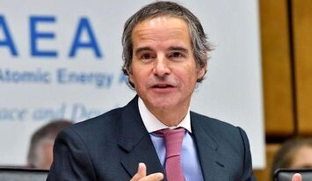 گروسی: به فعالیتهای خود به صورت دوجانبه با ایران ادامه میدهیم