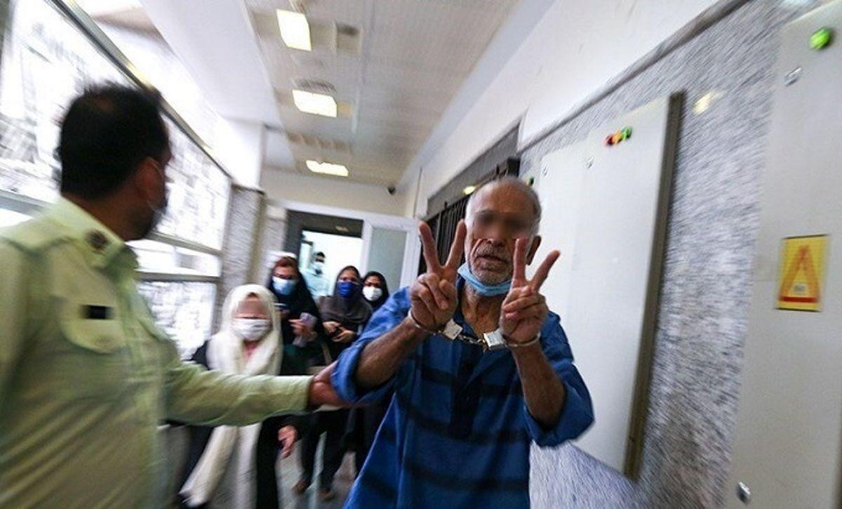 نظریه جدید پزشکی قانونی: اکبر خرمدین روانی است، همسرش کند ذهن !