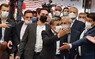 درگیری فیزیکی طرفداران احمدینژاد با کارمندان وزارت کشور! + فیلم