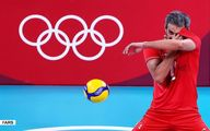 تصاویر شکست والیبال ایران مقابل ایتالیا