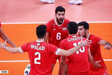 شکست والیبال ایران مقابل ایتالیا