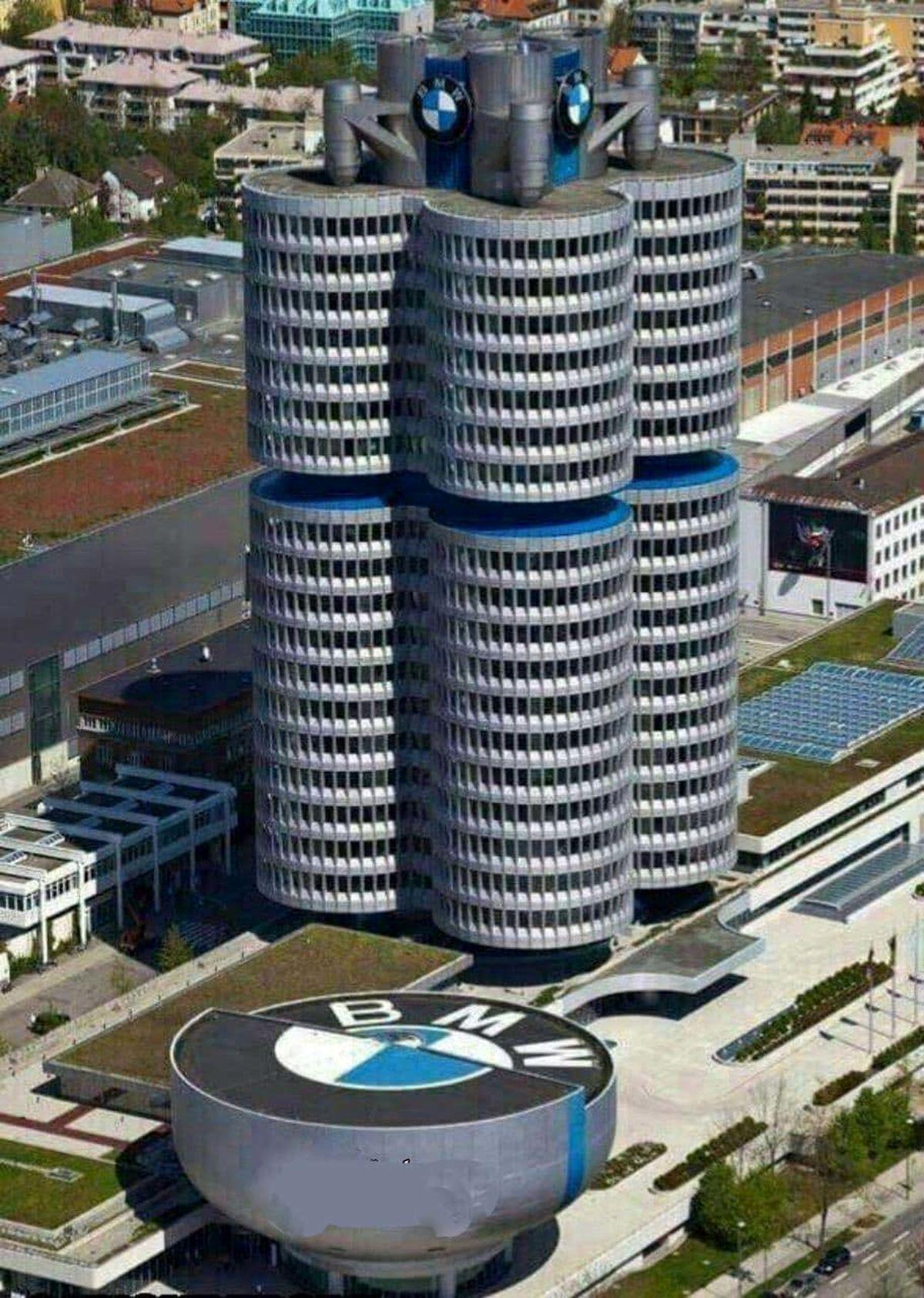 معماری فوق العاده ساختمان کمپانی بی ام و