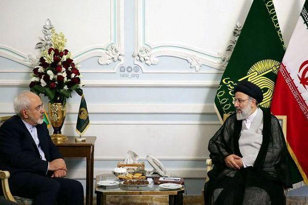 در دیدار ظریف با رئیسی چه گذشت؟ + جزئیات