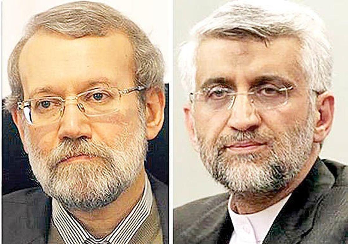 کنایه جدید جلیلی به لاریجانی: با تیکه به این و آن جلوی فساد گرفته نمی شود