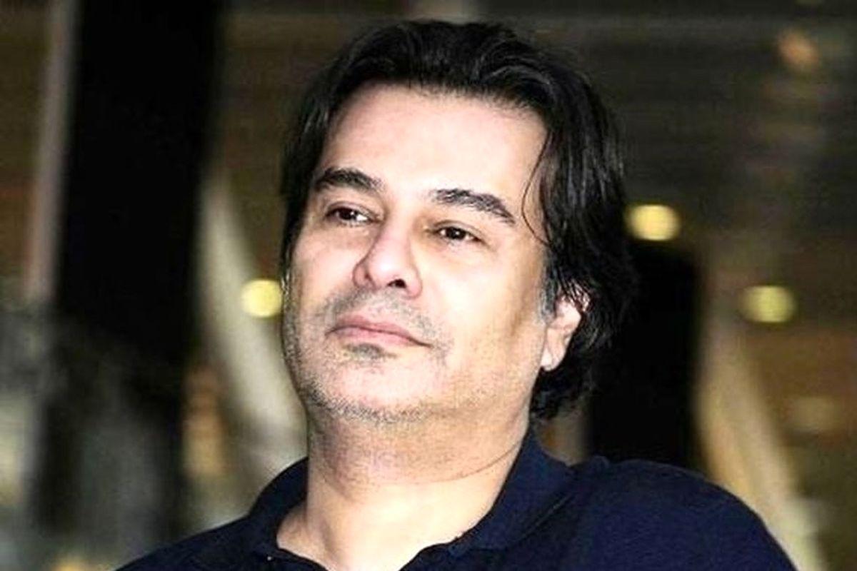 سلفی عاشقانه پیمان قاسم خانی و همسرش در آسانسور+عکس لو رفته