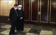عکس | حضور روحانی و جهانگیری در دیدار امروز با رهبرانقلاب