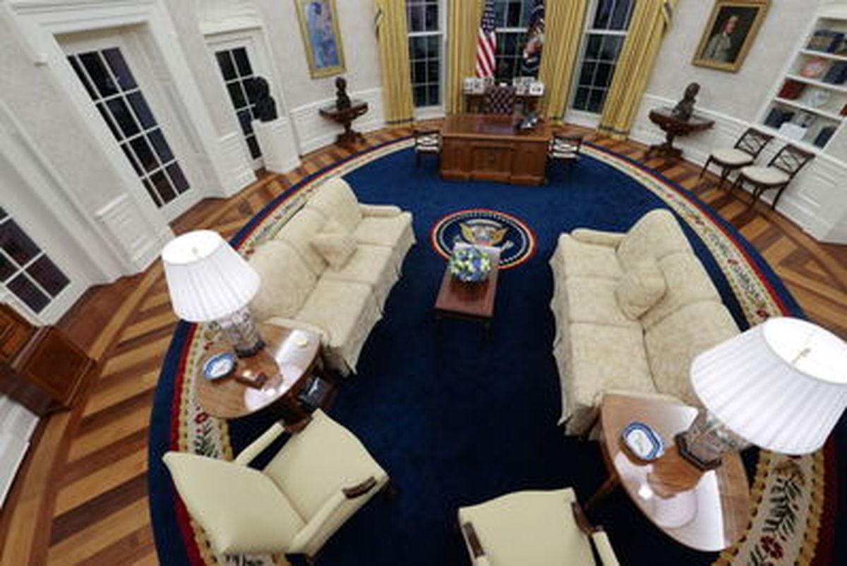 تصاویر دیده نشده از دفتر بیضی شکل کاخ سفید در گذر زمان