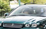 رانندگی ملکه بریتانیا در 91 سالگی+عکس
