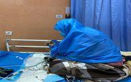 عروس امام خمینی (ره) کرونا گرفت + عکس در بیمارستان