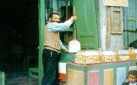 تصویری از بستنی فروش در دهه 30