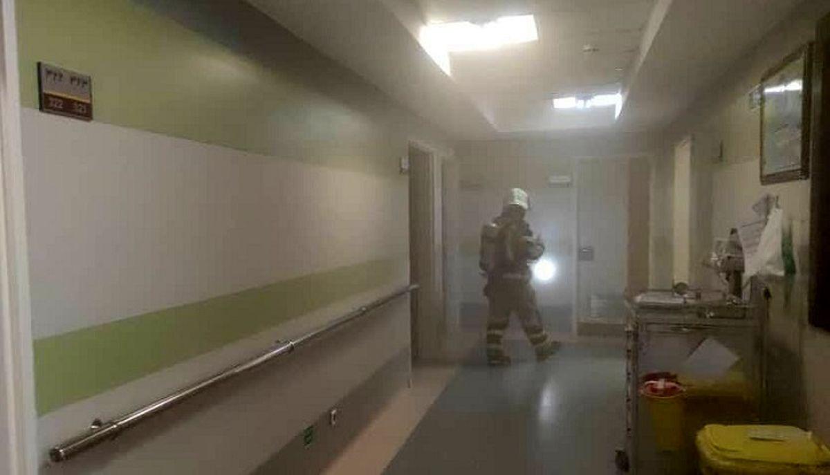 جزئیات جدید از حادثه آتش سوزی بیمارستانی در یوسف آباد