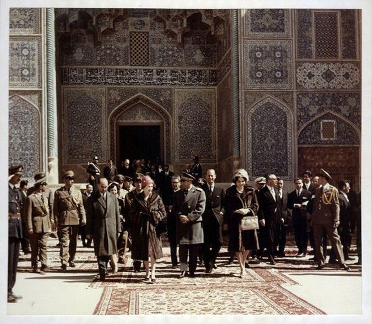 همسر ملکه انگلیس به تهران آمد + عکس