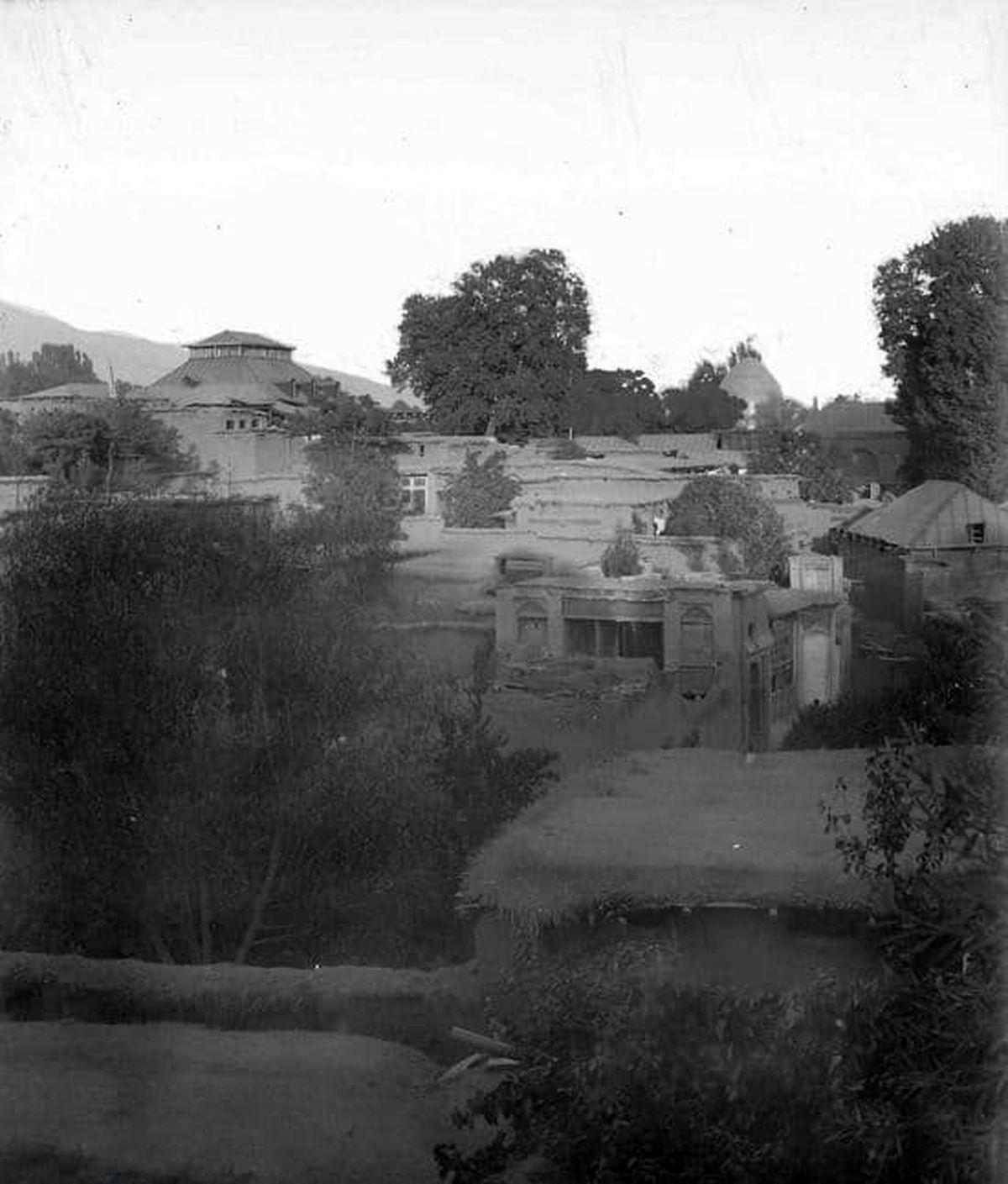 عکسی از دربند تهران در عهد قاجار