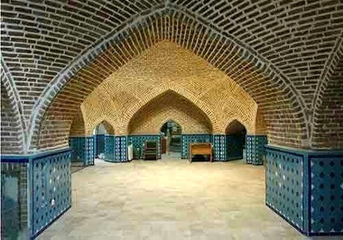 تصاویری زیبا از حمام و موزه مردم شناسی قجر قزوین
