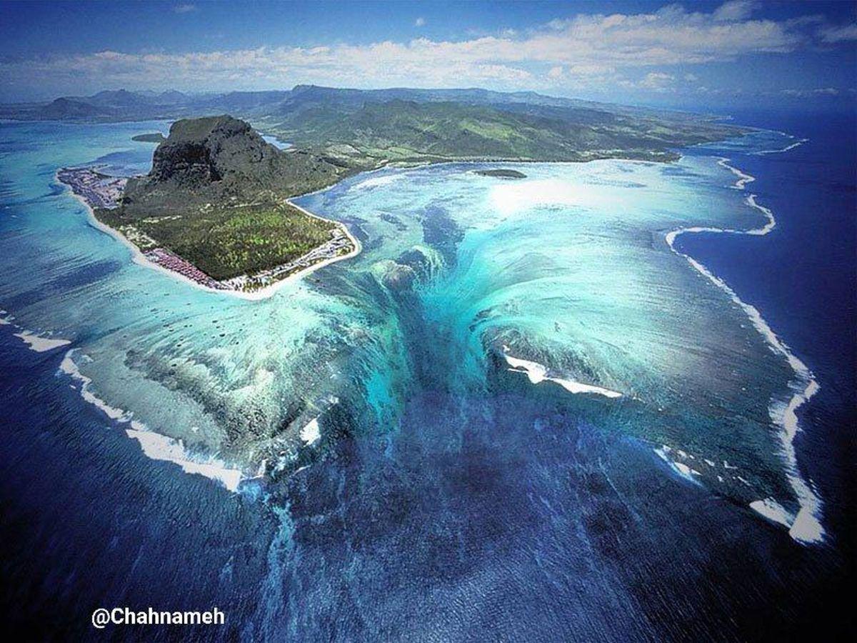تاحالا آبشارهای زیر دریایی دیدید؟ +عکس