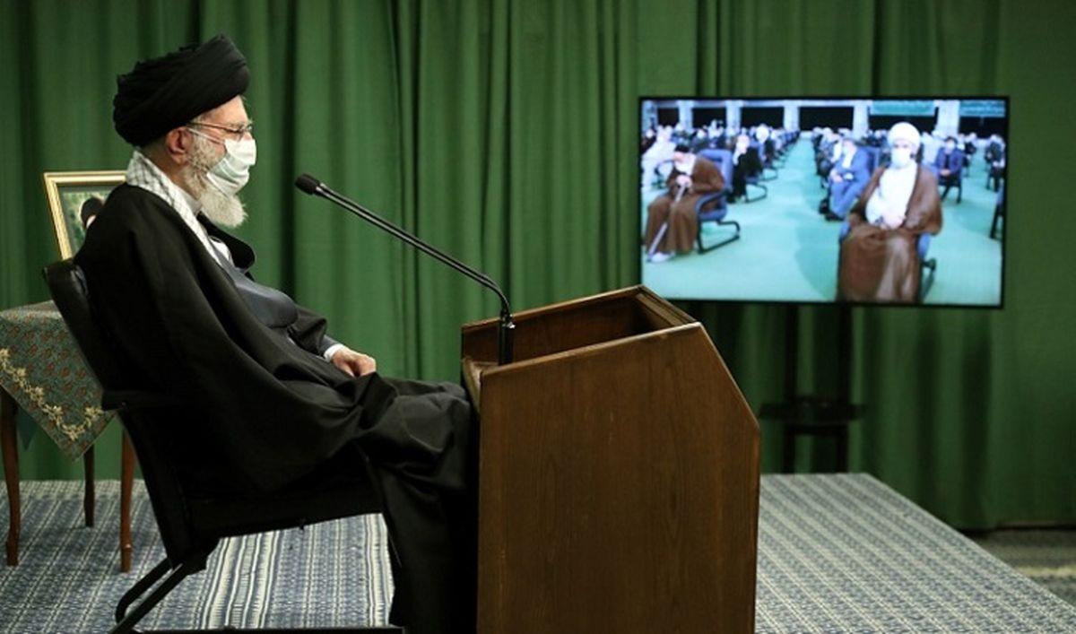رهبر انقلاب:دشمنان هیچ غلطی نمیتوانند بکنند/ جمهوری اسلامی رو به قوت و اقتدار روزافزون است