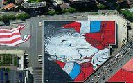 بزرگترین نقاشی پشت بامی دنیا در پاریس