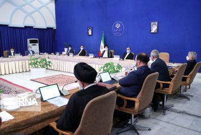 جلسه هیات دولت به ریاست ابراهیم رئیسی