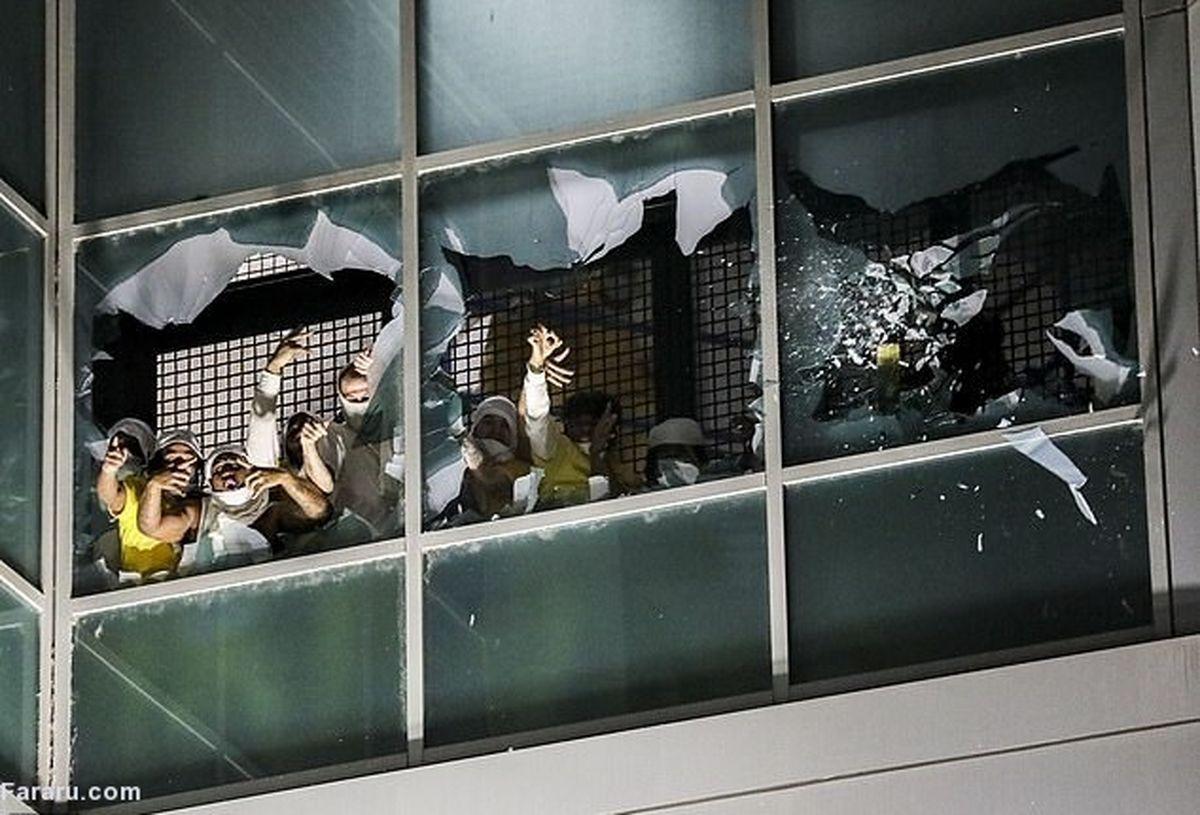 تصاویری خفن از شورش در زندان سنت لوئیس آمریکا