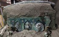 کشف درشکه تشریفاتیِ دو هزار ساله+عکس