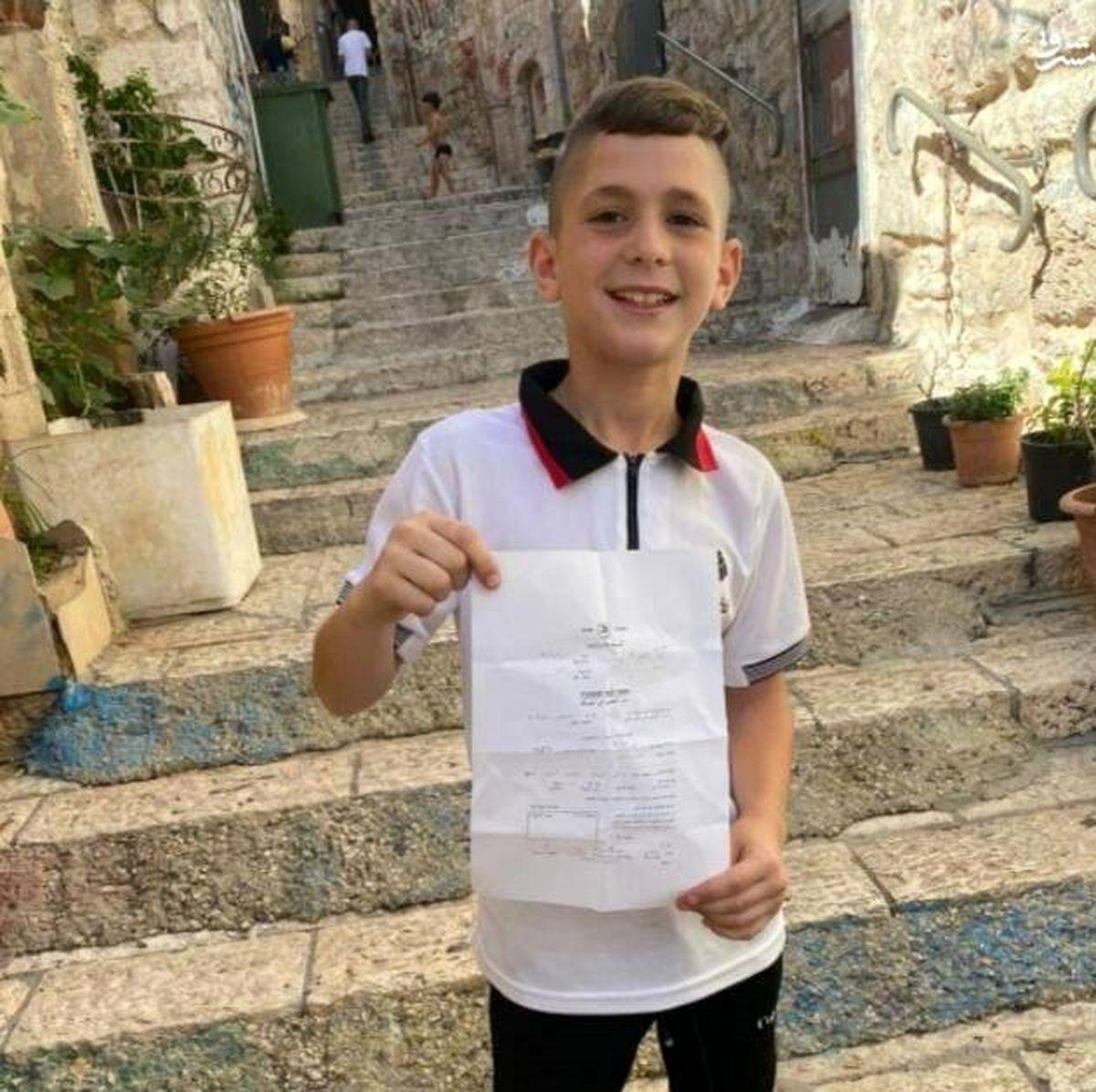 احضاریه کودک ۹ ساله برای بازجویی!+ عکس