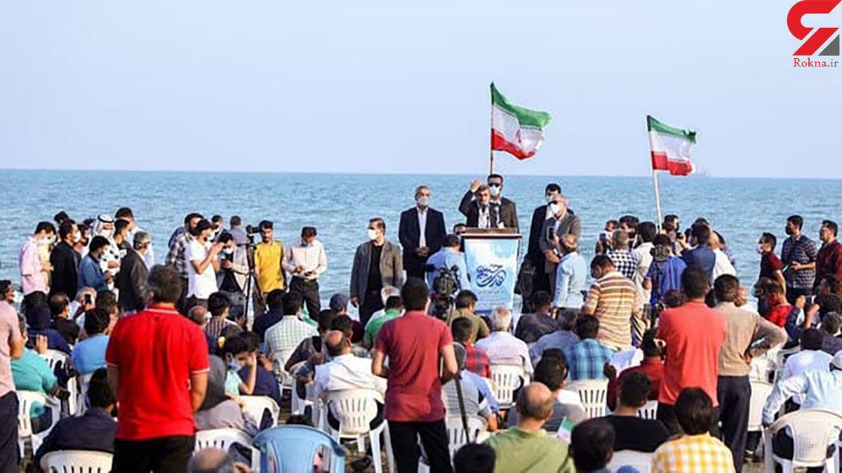 احمدینژاد ساحل بوشهر را بههم ریخت! + عکس