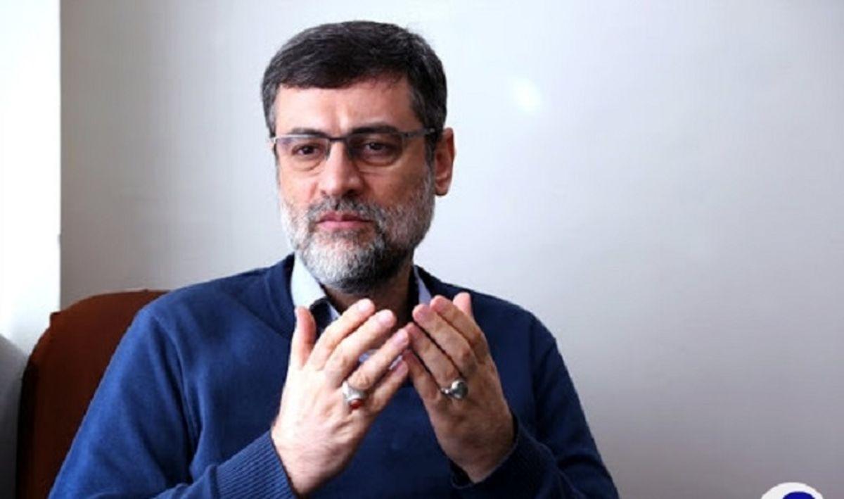 توئیت تند قاضی زاده هاشمی خطاب به علی لاریجانی + عکس