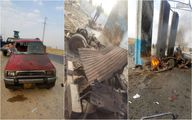 انفجار خودرو بمبگذاری شده در عراق + تصاویر
