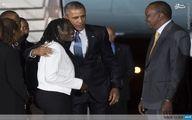 عکس/ اوباما در کنار خواهر ناتنیاش