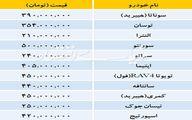قیمت روز خودروهای خارجی در بازار را ببینید/عکس