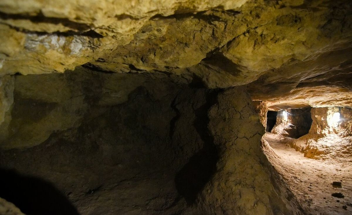 تصاویر دیده نشده از پناهگاه زیرزمینی تهیق