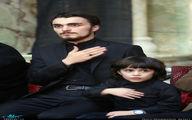 عکسی از دو فرزند پسر سیدحسن خمینی در عزاداری محرم