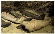کشف ۵۰ مومیایی چندهزارساله در مصر/ تصاویر