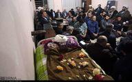 تصاویری از حال و هوای منزل امام جمعه سابق ارومیه بعد از فوت ایشان