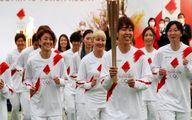 تصاویر جدید از آغاز سفر حمل مشعل المپیک با پیام صلح جهانی